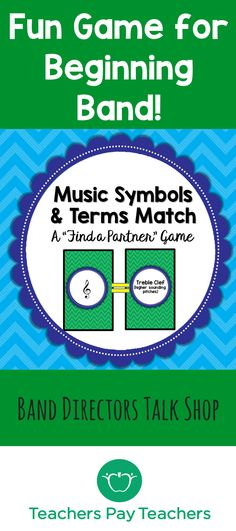 "Music Game ""Music Symbols and Terms Match""– 2 Sets! Music Theory Games, Music Theory Worksheets, Rhythm Games, Music Games, Music Lesson Plans, Music Lessons, Music Classroom, Music Teachers, Classroom Ideas"