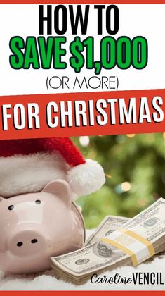 Do you want to save money for Christmas? Here are ways to help you save $1,000 before Christmas FAST. #makemoneyforchristmas #howtomakemoneyforchristmas #christmasbudget #howtomakemoneyonline #sidehustlesforchristmas #sidehustleideas #sidehustleideasformoms #sidehustlesthatwork #sidehustlesextracash #moneymakingideas Dollar Store Christmas, Christmas On A Budget, Diy Christmas Gifts, Before Christmas, Christmas Holidays, Christmas Wreaths, Christmas Decorations, Ways To Save Money, How To Make Money