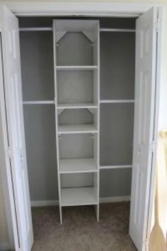 DoyleDispatch.com is Featured on Favorite Paint Colors - Stonington Gray by BM {nursery closet paint color}