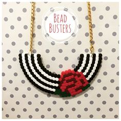 Necklace hama perler beads by beadbusters