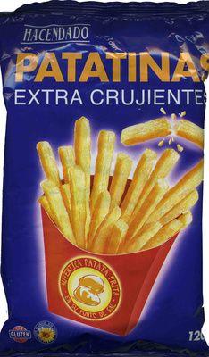 """Patatas fritas en palitos """"Hacendado"""" Patatinas extra crujientes - Producto"""