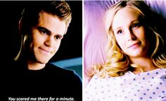 "#TVD 7x12 ""Postcards from the Edge"" - Stefan and Caroline"