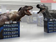 Jurassic World in-store display