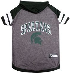 Pets First Michigan State Hoodie T-Shirt ** Discover this special dog product, click the image : Dog Apparel and Accessories