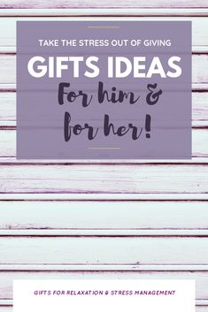 What is more stressful that having to get a gift for a loved one that is either:  (A) doesn't like anything or (B) has everything!   If you want inspiration for truly unique gift ideas that they WILL love, follow this board!  #giftideasforhim #giftideasforher #mothersday #fathersday #birthdaygiftideas #christmas #valentinesday #anniversarygift Stress Relief Gifts, Relaxation Gifts, Stressed Out, Stress Management, Gifts For Dad, Anniversary Gifts, Health And Wellness, Unique Gifts, Gift Ideas