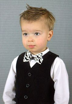 Mustache Bow tie for boys boy's bow tie made from by ThePinkDove, $4.95