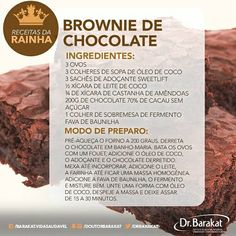 Brownies, Mole, Chocolate, Healthy Lifestyle, Bakery, Food Porn, Food And Drink, Healthy Recipes, Healthy Foods