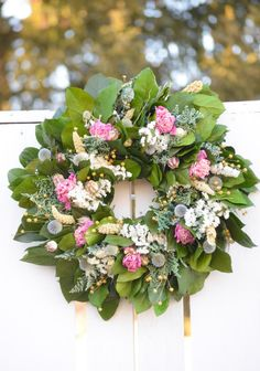 Pink Peony Spring wreath Pink and White by TheBlaithinBlairShop, $64.95