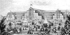 frontispiece the park and crystal palace - Google Search