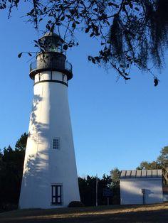 Lighthouse on Amelia