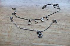 Authentic Christian Dior necklace and bracelet $500 - http://designerjewelrygalleria.com/christian-dior/authentic-christian-dior-necklace-and-bracelet-500/