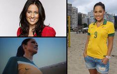 globoesporte - FOTOS: as repórteres que batem um bolão na Copa - fotos em copa do mundo