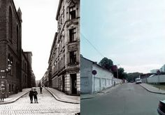 Königsberg (today Kaliningrad) then & now.