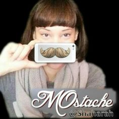 Montreal Recording Artist @shaharah_sinclair Sporting her MOstache Tech Tats