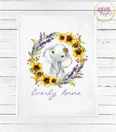 Dog baby blanket lumber jack Nursery golden retriever Blanket Girl Baby Shower gift floral dog puppy Nu