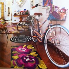 Missoni for Target bicycle, saw this in dwell, I have been looking all over. Exciting.