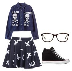 """""""Untitled #445"""" by girl-in-love-m ❤ liked on Polyvore featuring Chicnova Fashion, Converse and Coach"""