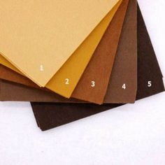 1mm Thickness Felt Fabric Sheets Non Woven Pure Brown Chocolate Cloth Felts Sewing Diy Craft Handmade Needlework 20cm X 30cm
