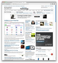 @gridlink on @nytimes Tech cover
