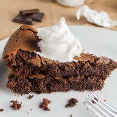 The Healthiest Chocolate Cake Ever- This cake is grain free, dairy free, high protein, and so delicious, all thanks to one secret ingredient