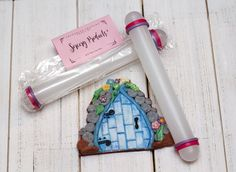 Amazon.com: Sorcery Products Fondant Cake Pastry Rolling Pin: Kitchen & Dining