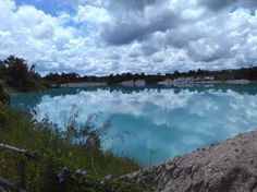 KAOLIN LAKE Photo by Cicilia Sonya Trusthawati — National Geographic Your Shot