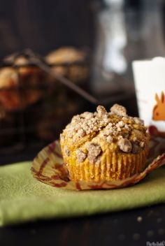 Chocolate Chip Pumpkin Muffins {recipe}