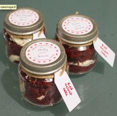 DIY Cake in a Jar