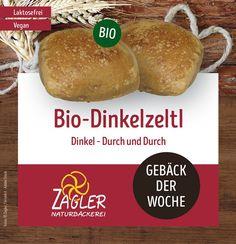 Unser Gebäck der Woche🍞 Das schmackhafte Bio-Dinkelzeltl aus Dinkel – Durch und Durch! So sollte das perfekte Dinkelzeltl sein. 🥰 Gesund in die Winterzeit starten mit unserem Dinkelgebäck! #zagler #zaglerbäckerei #zaglernaturbaeckerei #naturbäckerei #bäckerei #backwaren #dinkelgebäck #dinkel #bio #biogebäck #vegan #laktosefrei Baked Potato, Potatoes, Vegan, Baking, Ethnic Recipes, Food, Winter Time, Baked Goods, Health