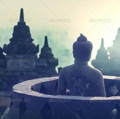 Borobudur ...  UNESCO, aged, ancient, antique, architecture, asia, asian, background, barabudur, borobudur, budda, buddha, buddhism, candi, civilization, culture, god, heritage, hindu, historical, indonesia, java, landscape, meditate, meditation, monument, nature, nobody, old, outdoors, pattern, peaceful, philosophy, postcard, religion, religious, retro, ruin, sculpture, site, spiritual, spirituality, statue, stone, stupa, temple, texture, view, vintage, yogyakarta