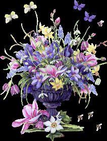 8168 - Hareketli Çiçek Resimleri | Flowers Gifs