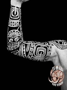 Inspired Design Tatuagens tattoo black maori Polinesien Polinesian tribal