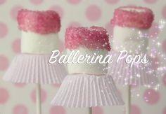 "Adorable idea for a little girls birthday, make ""Ballerina Pops"""