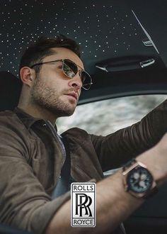 Ed Westwick for Rolls Royce