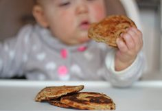 Our Happy Days : Baby Led Weaning: Baby Pancake Recipe