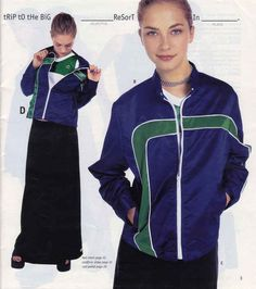 This shiny track jacket. | 23 Of The Most '90s Fashions From The Spring '97 Delia's Catalog