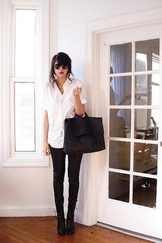 Black + white. Perfection.