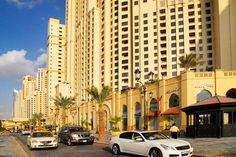 JBR Dubai (only 5 min away from where I live)  I love it here!