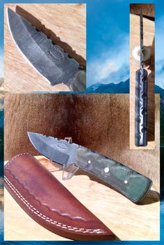 Archers Friend from Cold Steel Outdoors.  World Class Damascus Steel Hunting Knives. http://coldsteeloutdoors.com/collections/damascus-steel-knives