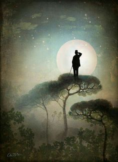 """The Man in the Moon"" by Catrin Welz-Stein"