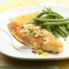Catfish Amandine Recipe. I have made this Amandine sauce with Tilapia and Salmon. So wonderful. My favorite of the 3, Salmon.