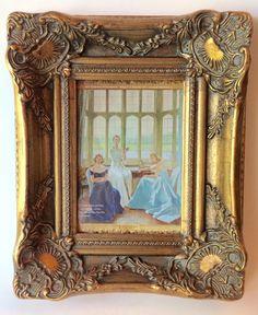 Vintage Ornate Gold Frame by ShopMissMagnolia on Etsy