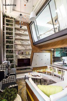An Eclectic Loft Condo Unit is All About Making a Statement Decoration, Condo, Loft, The Unit, House Design, Studio, Furniture, Home Decor, Decor
