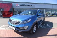 Used 2012 (12 reg) Blue KIA Sportage 2.0 CRDi KX-2 5dr Auto for sale on RAC Cars