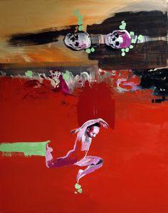 Jerzy Treit - Tancerz, 100X80cm, olej na płótnie, 2013. Na wystawę malarstwa Jerzego Treita zapraszamy od 6 do 17.03.2014r, do Galerii Schody, ul. Nowy Świat 39 w Warszawie http://artimperium.pl/wiadomosci/pokaz/171,kobieta-i-chaos-jerzy-treit-w-galerii-schody#.UwszbPl5OSr
