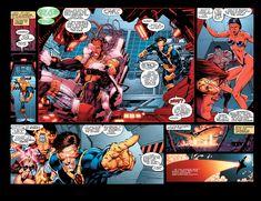 Comic Book Pages, Comic Book Artists, Comic Books Art, Comic Art, Marvel Heroes, Marvel Comics, Jim Lee Art, Cyclops, X Men