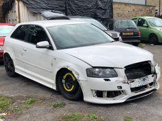 eBay: 2007 AUDI S3 TFSI QUATTRO 3 HATCHBACK WHITE DAMAGED SALVAGE CAT N STARTS DRIVES #carparts #carrepair