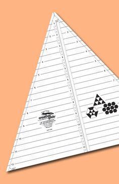 12-1/2 Inch Creative Grids 60° Triangle – Sassafras Lane Designs