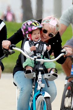 The singer and her baby girl, who turns 1 year old next month, were all smiles as they joined Willow's dad, Carey Hart, for a bike ride on Sunday in Los Angeles. Like a few other celebrity moms, Pink was enjoying an extra-special Mother's Day -- it was her first since having Willow on June 2, 2011