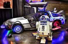 & The DeLorean double win! Great Scott, Back To The Future, Star Wars, Stars, Sterne, Starwars, Star, Star Wars Art